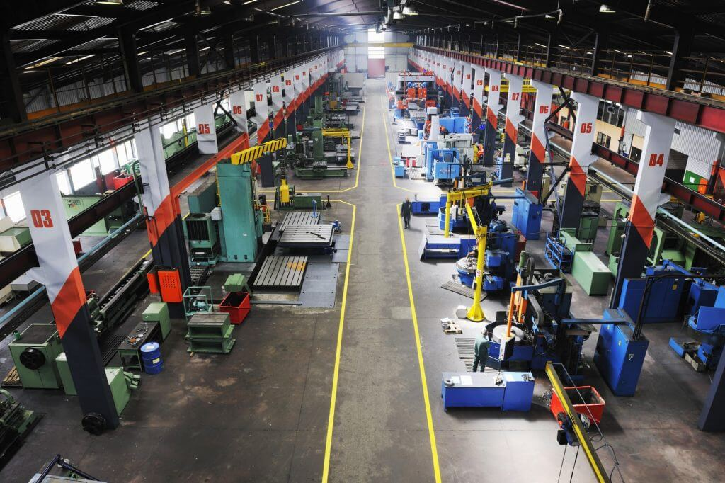 Manufacturing Factory Plant Floor