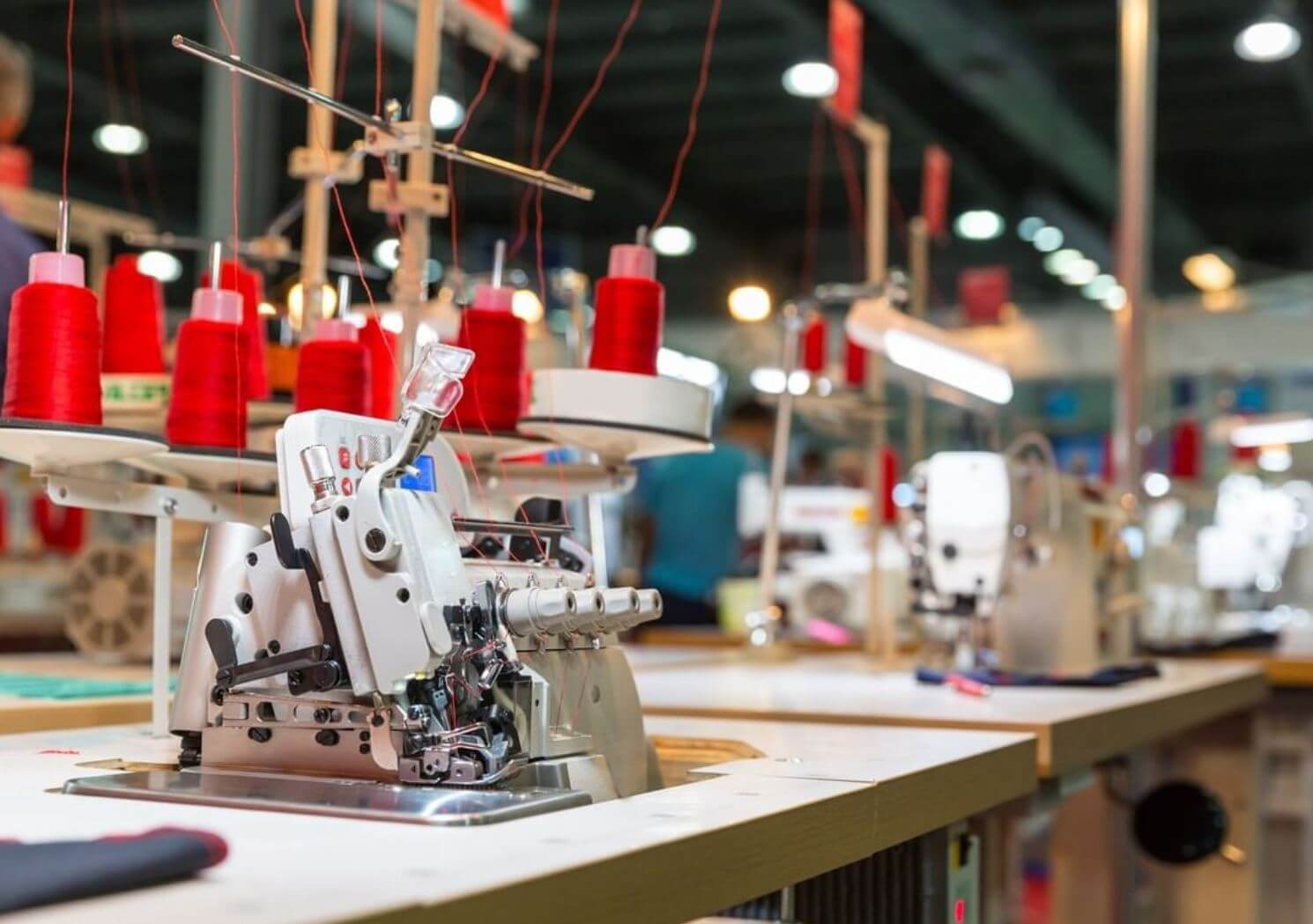 Apparel Production Faces of Manufacturing Factory Floor