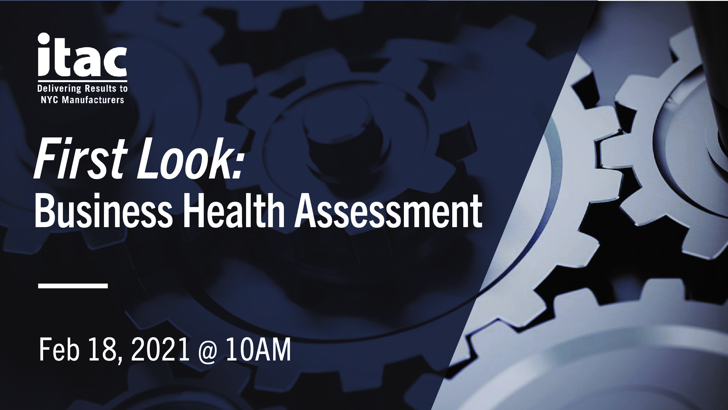 First Look ITAC's Business Health Assessment