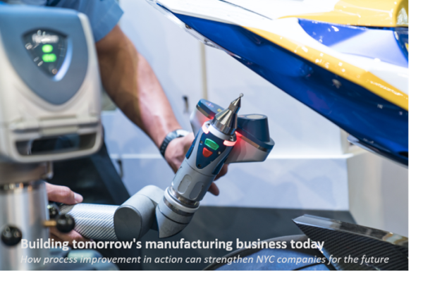 Building tomorrow's manufacturing business today